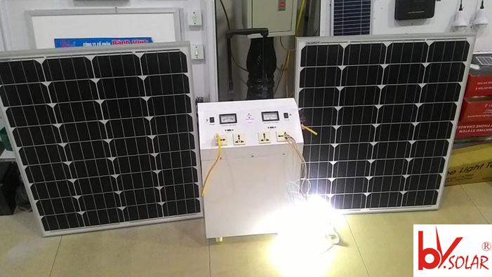 bộ máy điện năng lượng mặt trời BV12