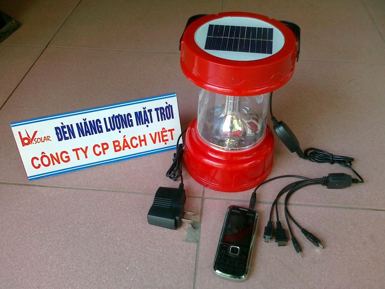 đèn xách tay năng lượng mặt trời bv 03f