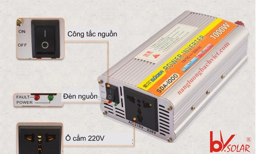 máy kích điện suoer sda 1000w