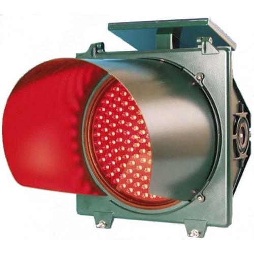 đèn chớp đỏ cảnh báo giao thông năng lượng mặt trời
