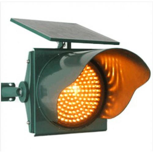 đèn chớp vàng cảnh báo giao thông năng lượng mặt trời