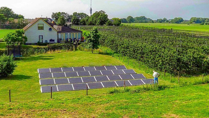ứng dụng năng lượng mặt trời trong nông nghiệp Thái Bình