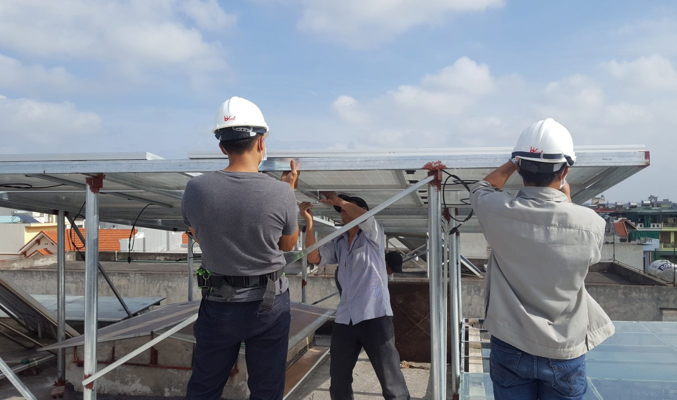 điện mặt trời thành phố Thái Bình