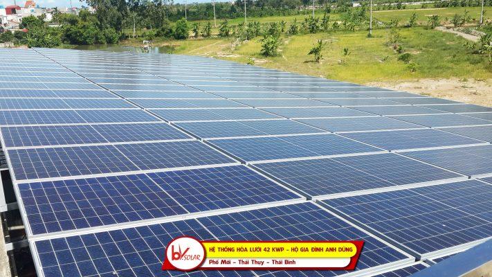 điện mặt trời thái thụy thái bình